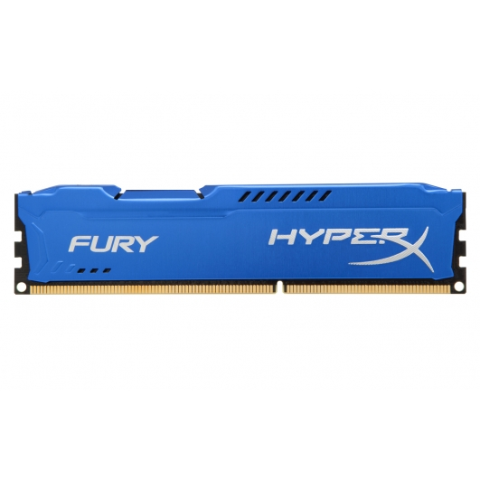 HyperX Fury Blue 8GB DDR3 PC3-12800 1600MHz RAM Memory 1.5v CL10 DIMM