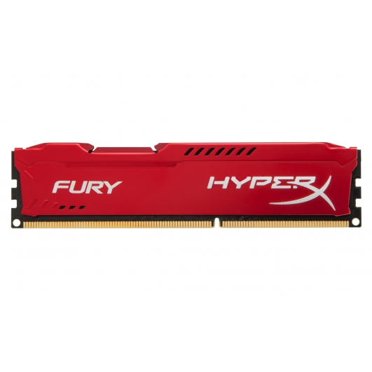 HyperX Fury Red 4GB DDR3 PC3-12800 1600MHz RAM Memory 1.5v CL10 DIMM