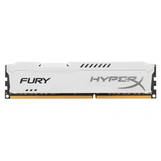 HyperX Fury White 8GB DDR3 PC3-12800 1600MHz RAM Memory 1.5v CL10 DIMM