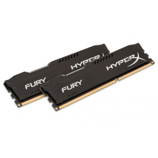 HyperX Fury HX313C9FBK2/16 Black 16GB (8GB x2) DDR3 1333Mhz Non ECC Memory RAM DIMM