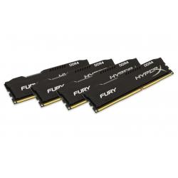 HyperX Fury HX429C17FBK4/16 16GB (4GB x4) DDR4 2933MHz Non ECC Memory RAM DIMM