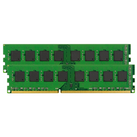 Kingston 4GB (2GB x2) DDR2 RAM Memory Non ECC DIMM 667Mhz PC2-5300 1.8v