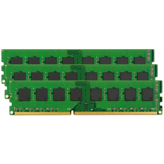 Kingston 24GB (8GB x3) DDR3 KVR16E11K3/24I 1600Mhz ECC Unbuffered RAM Memory DIMM Intel Validated