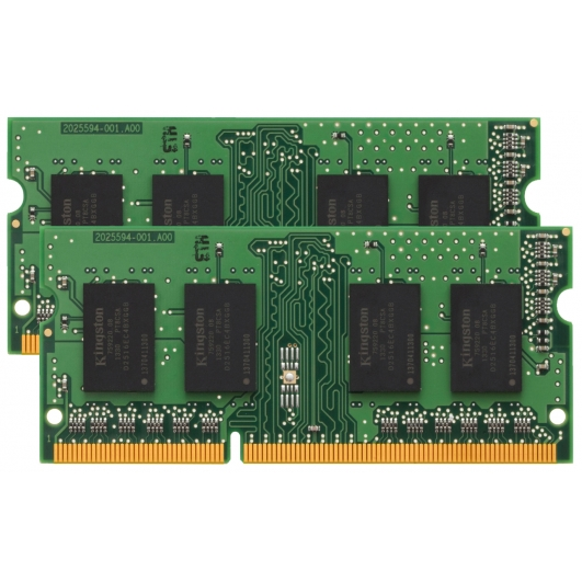 Kingston 2GB (1GB x2) DDR2 RAM Memory Non ECC SODIMM 800Mhz PC2-6400 1.8v