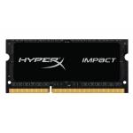 HyperX Impact HX321LS11IB2K2/8 Black 8GB (4GB x2) DDR3L 2133Mhz Non ECC Memory RAM SODIMM