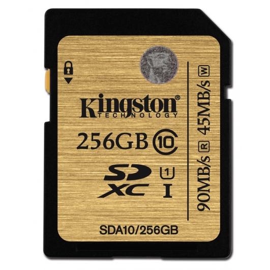 Kingston 256GB Ultimate SDXC (SD) Memory Card U1 45MB/s