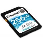 Kingston 256GB Canvas Go SDXC (SD) Memory Card U3 90MB/s V-Class 30