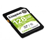 Kingston 128GB Canvas Select SD (SDXC) Card 80MB/s R, 10MB/s W