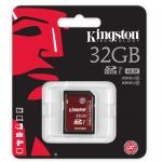Kingston 32GB SDHC (SD) Memory Card U3 80MB/s
