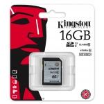 Kingston 16GB SDHC (SD) Memory Card U1 10MB/s