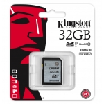 Kingston 32GB SDHC (SD) Memory Card U1 10MB/s