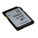 Kingston 64GB SDXC (SD) Memory Card U1 10MB/s