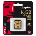 Kingston 16GB Ultimate SDHC (SD) Memory Card U1 45MB/s