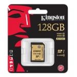 Kingston 128GB Ultimate SDXC (SD) Memory Card U1 45MB/s