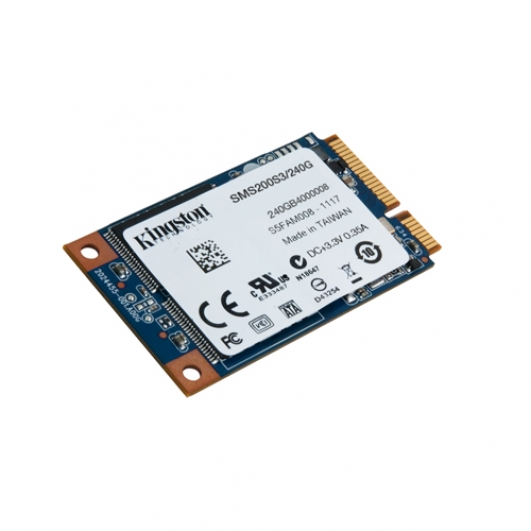 Kingston 480GB SSD Now mSATA 3 (III) Solid State Drive HDD
