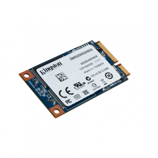 Kingston 60GB SSD Now mSATA 3 (III) Hard Drive HDD