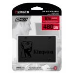 Kingston 480GB A400 SSD 2.5 Inch 7mm, SATA 3.0 (6Gb/s), 500MB/s R, 450MB/s W