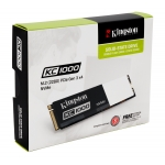 Kingston 960GB KC1000 NVMe M.2 2280 SATA 3.0 PCIe SSD 2700MB/s (No Adapters)