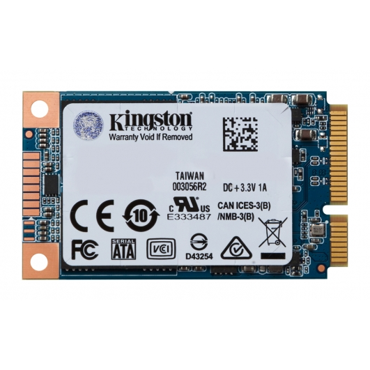 Kingston 480GB SSD Now mSATA 3 (III) Solid State Drive 6Gb/s Rev 3.0