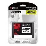 Kingston 480GB DC500R SSD 2.5 Inch 7mm, SATA 3.0 (6Gb/s), 555MB/s R, 500MB/s W