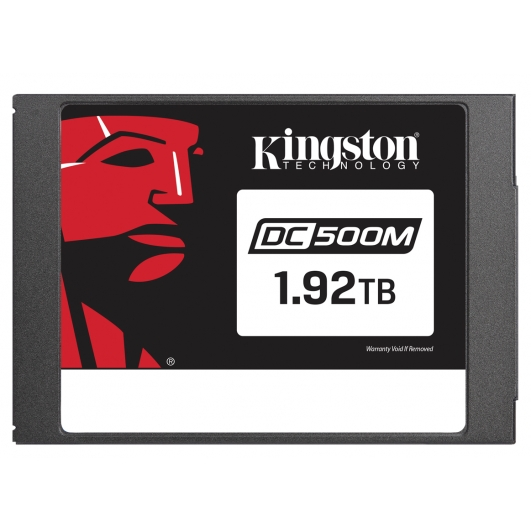 Kingston 1.92TB (1920GB) DC500M SSD 2.5 Inch 7mm, SATA 3.0 (6Gb/s), 555MB/s R, 520MB/s W