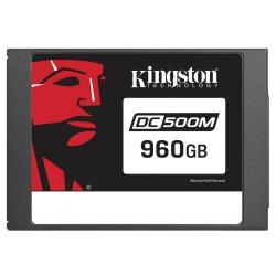 Kingston 960GB DC500M SSD 2.5 Inch 7mm SATA 3.0 (6Gb/s) 555MB/s R 520MB/s W