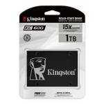Kingston 1TB (1024GB) KC600 SSD 2.5 Inch 7mm, SATA 3.0 (6Gb/s), 3D TLC, 550MB/s R, 520MB/s W