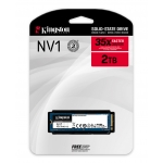 Kingston 2.0TB (2000GB) NV1 SSD M.2 (2280), NVMe, PCIe 3.0 (x4), 2100MB/s R, 1700MB/s W