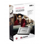 500GB Kingston XS2000  SSD   Up To 2000MB/s