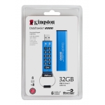 Kingston 32GB USB 3.1 DataTraveler Encrypted Memory Stick Flash Drive
