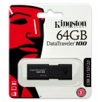 Kingston 64GB USB 3.0 DataTraveler DT100 G3 Memory Stick Flash Drive
