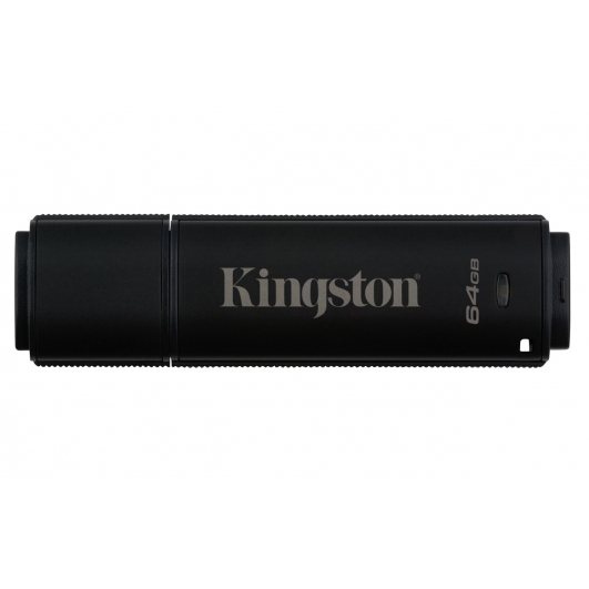 Kingston 64GB DT4000G2 Encrypted Flash Drive USB 3.0, 250MB/s