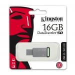 Kingston 16GB DataTraveler DT50 USB 3.1 Memory Stick Flash Drive