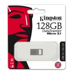 Kingston 128GB DataTraveler Micro Flash Drive USB 3.1, Gen1, 100MB/s