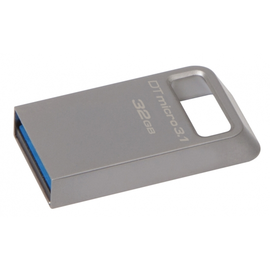 Kingston 32GB DataTraveler Micro Flash Drive USB 3.1, Gen1, 100MB/s