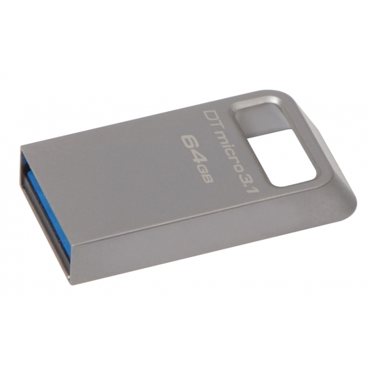 Kingston 64GB USB 3.1 DataTraveler Micro Memory Stick Flash Drive
