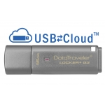 Kingston 16GB USB 3.0 DataLocker+ G3 Encrypted Memory Stick Flash Drive