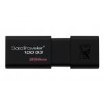 Kingston 256GB USB 3.0 DataTraveler DT100 G3 Memory Stick Flash Drive
