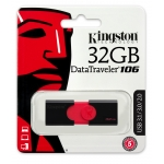 Kingston 32GB USB 3.1 DataTraveler DT106 Memory Stick Flash Drive
