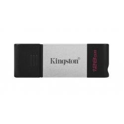 Kingston 128GB DataTraveler DT80 Type-C Flash Drive USB 3.2, Gen1, 200MB/s