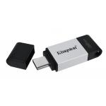Kingston 32GB DataTraveler DT80 Type-C Flash Drive USB 3.2, Gen1, 200MB/s