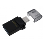 Kingston 32GB DataTraveler MicroDuo Flash Drive USB 3.2, Gen1, 80MB/s
