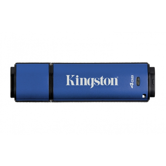 Kingston 4GB DataTraveler Encrypted Flash Drive USB 3.0