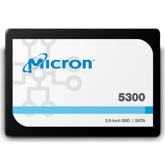 Micron 1.9TB (1900GB) 5300P SSD 2.5 Inch 7mm, TCG Enterprise, SATA 3.0 (6Gb/s), 540MB/s R, 520MB/s W