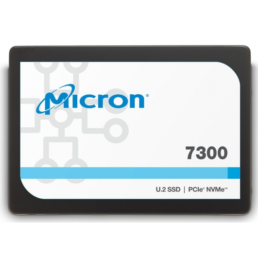Micron 3.8TB (3800GB) 7300P SSD 2.5 Inch 7mm, U.2, NVMe, PCIe 3.1 (x4), 3000MB/s R, 1800MB/s W