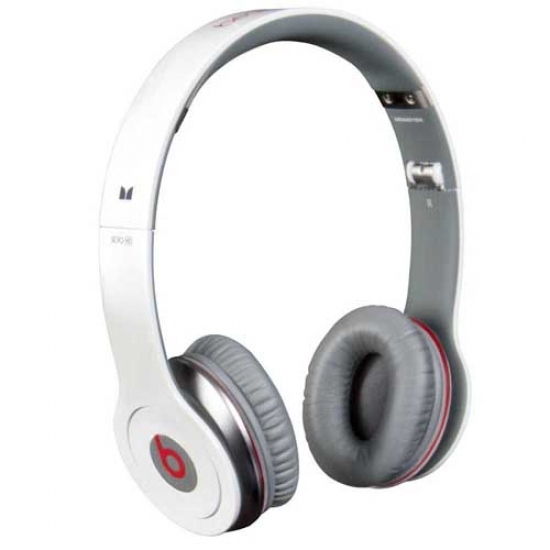 genuine monster beats by dr dre solo hd headphones with. Black Bedroom Furniture Sets. Home Design Ideas