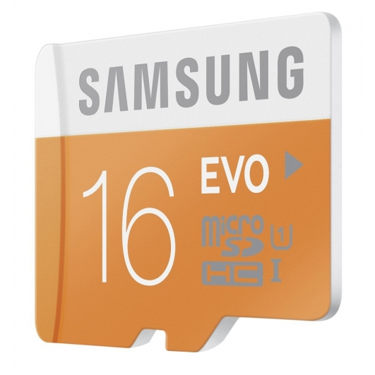 Samsung 16GB EVO Micro SDHC (MicroSD) Memory Card Inc Adapter U1 48MB/s for Samsung  Galaxy Note 3 N9000 Mobile Phone
