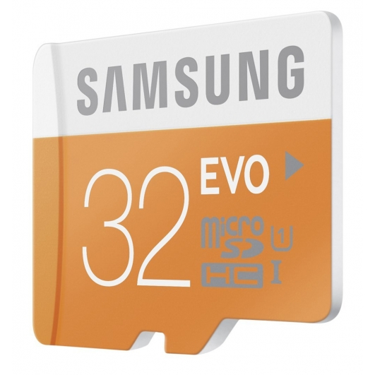 Samsung 32GB EVO Micro SDHC (MicroSD) Memory Card Inc Adapter U1 48MB/s for Samsung  Galaxy Note 3 N9000 Mobile Phone