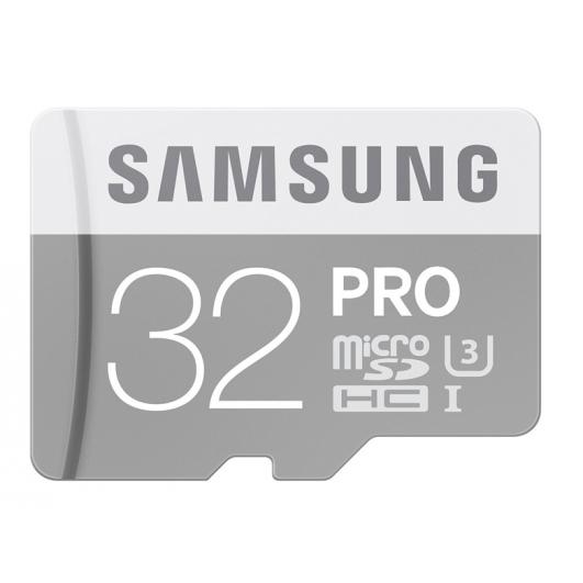 Samsung 32GB PRO Micro SDHC (MicroSD) Memory Card U3 90MB/s