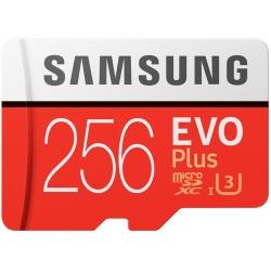 Samsung 256GB EVO Plus Micro SD (SDXC) Card, Gen2, 100MB/s R, 90MB/s W